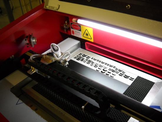 desktop 40watt co2 laser cutting machine
